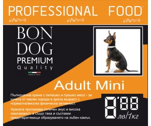 Bon Dog Adult Mini 15kg