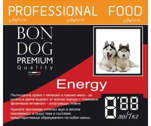 Bon Dog Energy 15kg