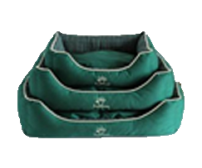 Pet bed 50x40x15cm - olive green