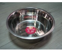 13109 Metal bowl stainless steel - 4000ml