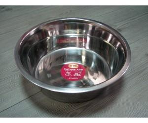 13109 Metal bowl stainless steel - 4000ml
