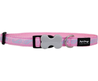 Collar Paisley Pink with Light Blue Small 12mm / 20-32cm