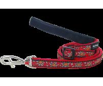 Leash RedDingo Edelweiss Red Small 12mm / 120cm