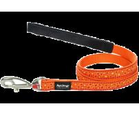Leash RedDingo Bedrock Orange Small 12mm / 120cm
