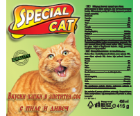 Special Cat 415g -  poultry and wild