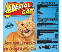 Special Cat 415g -  salmon and tuna