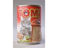 Tomi can for cats 400g -  beef