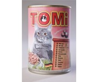 Tomi can for cats 400g -  veal