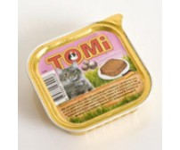 Tomi pate for cats 100g -  veal and chicken