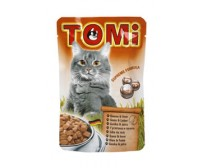 Tomi pouch for cats 100g -  goose and liver