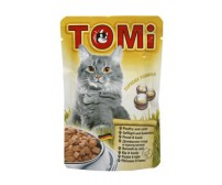 Tomi pouch for cats 100g -  chicken and rabbit