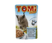 Tomi Junior pouch for cats 100g -  chicken