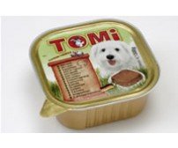 Tomi pate for dogs 300g -  lamb