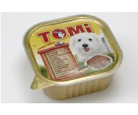 Tomi pate for dogs 300g -  chicken
