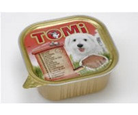 Tomi pate for dogs 300g -  beef